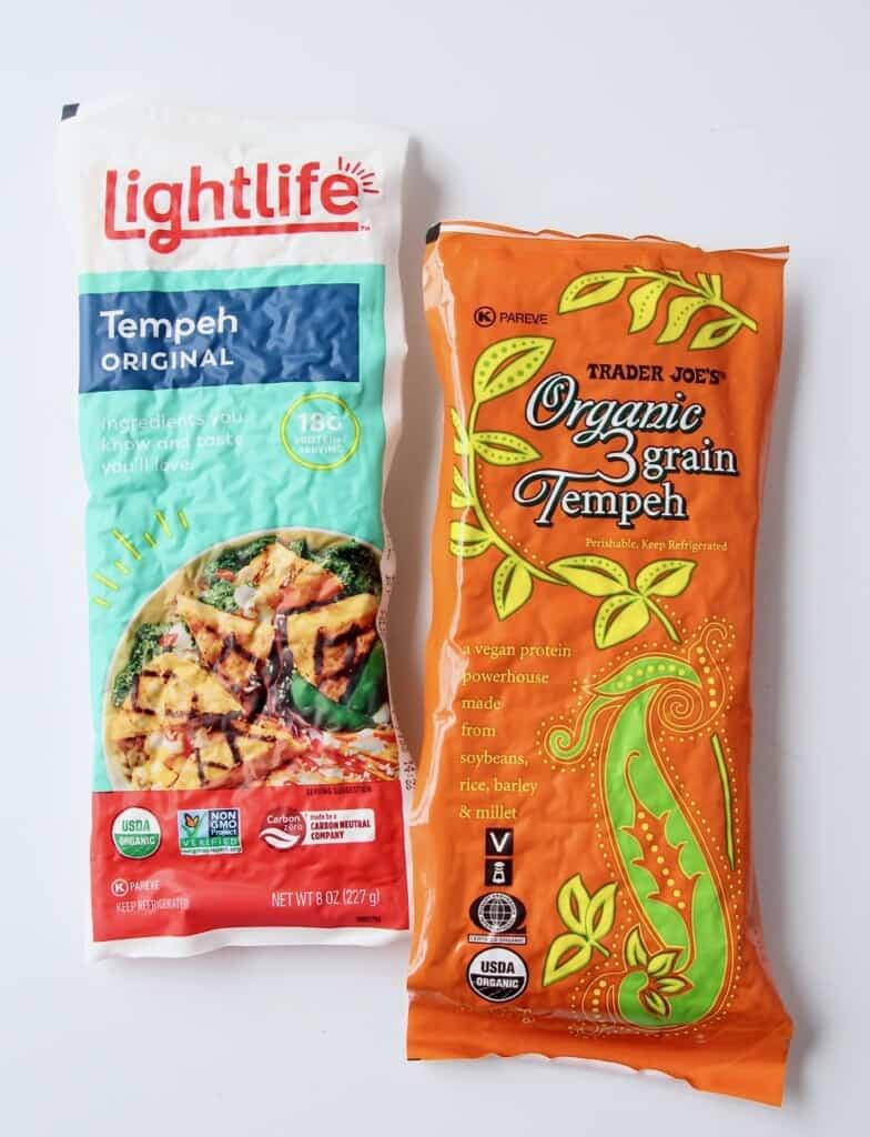 tempeh in packaging